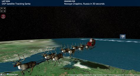 tracking santa on norad track santa norad and provide updates on
