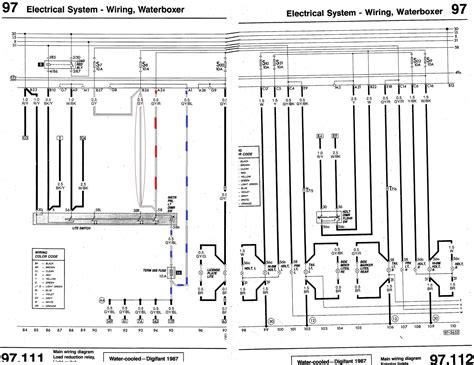87 vanagon wiring diagram 87 free engine image for user