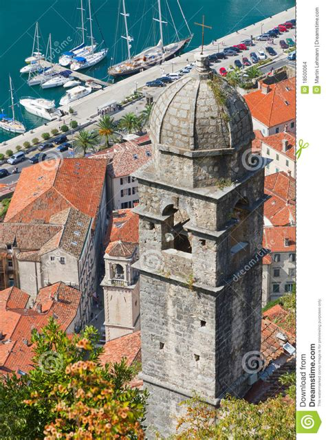 tile pattern temple catacombs kotor chapel above kotor town and kotor stock images image