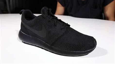 Nike One Black Black mens nike roshe run speckle