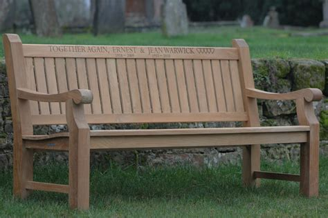 memorial benches uk memorial benches designed to be strong and comfortable