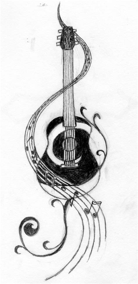 guitar neck tattoo designs lovely tattoos designs ffibizz