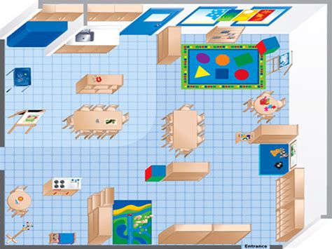 ecers classroom floor plan room diagram maker ecers preschool classroom floor plan