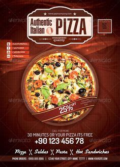pizza flyer template free pizza menu psd templates and flyers on