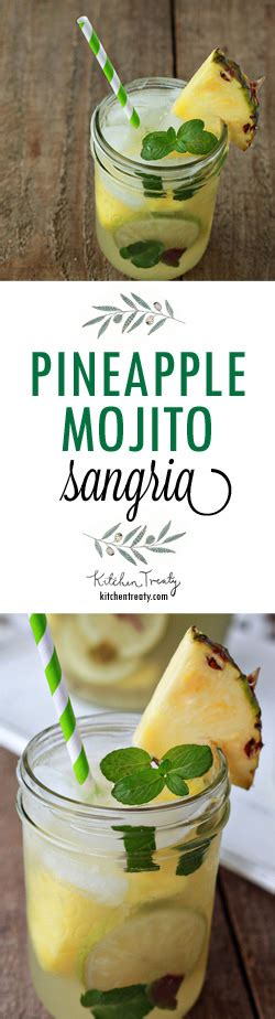 Links Pineapple Mojito by Pineapple Mojito Sangria Kitchen Treaty