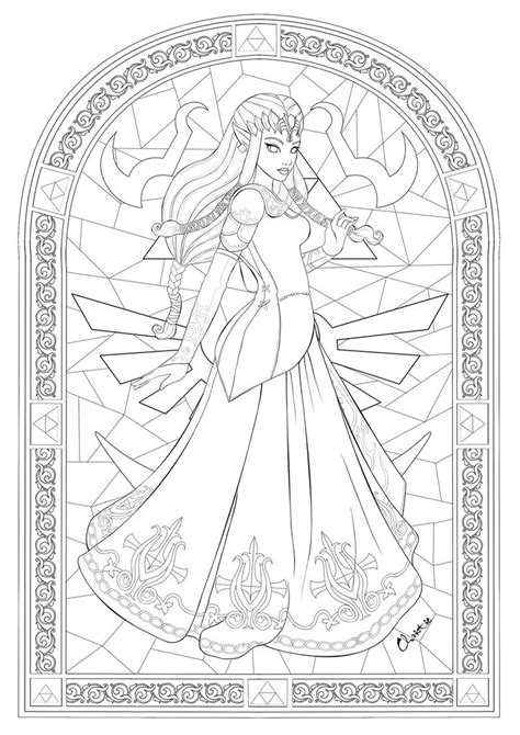 princess zelda by tesiangirl on deviantart