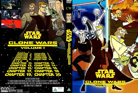 wars vol 6 out among the wars clone wars volume 1 dvd cover by wario64i on