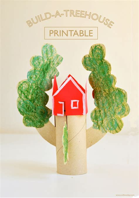 printable tree house willowday build a treehouse printable