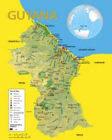 map of guyana south america large detailed travel map of guyana guyana large detailed