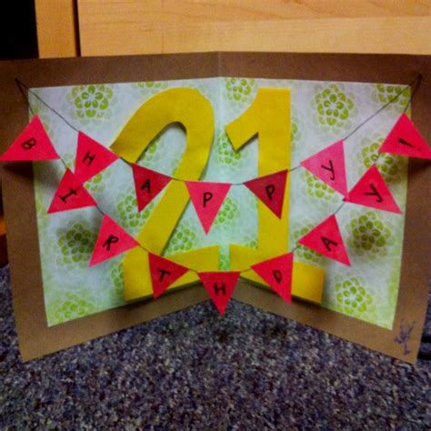 How To Make A Cool Birthday Card Out Of Paper - pin by allison chin on diy