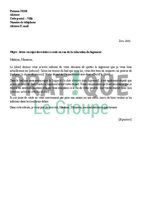 Lettre De Recommandation Pour Quitter Un Logement Modele De Lettre Pour Quitter Un Appartement Mod 232 Le De