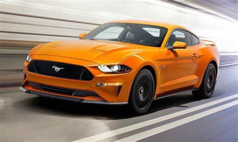 2018 mustang gt horsepower updated 2018 ford mustang gt is faster than porsche 911