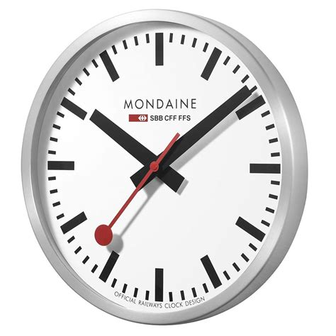 mondaine wall clock mondaine wall clock 28 images mondaine white frame