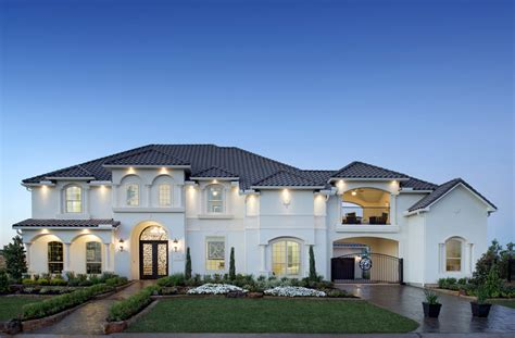 Venticello Mediterranean Professionally Decorated Model Luxury Homes In Katy Tx