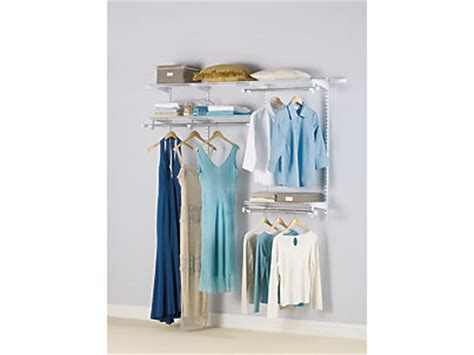ft configurations custom closet kit rubbermaid