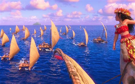 boat song moana quot we were voyagers quot disney s moana revels in the