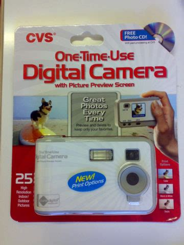 disposable digital camera facts: see the history, pros