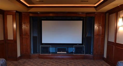home theater screen wall design home theater screens 187 design and ideas