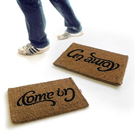 Come In Go Away Door Mat by Uk Ambigram Door Mat Come In Go Away New Ebay