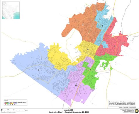 texas isd map boundaries isd
