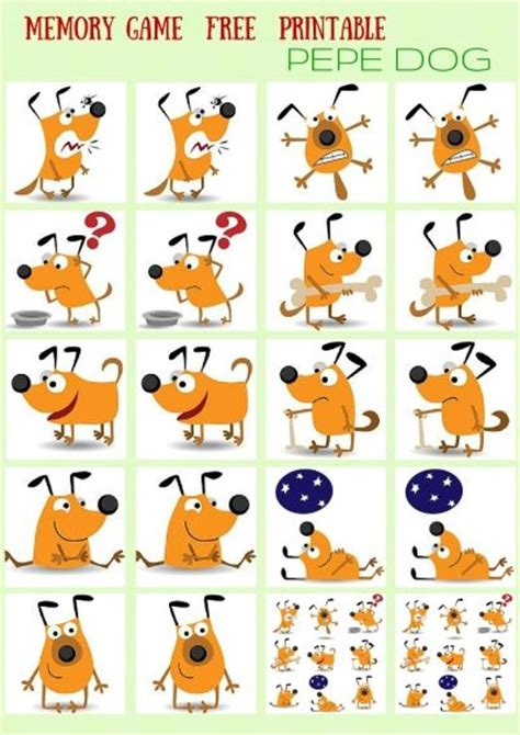 printable animal memory game memory games animals and magazines on pinterest