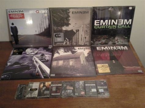 eminem vinyl the slim shady lp vs the marshall mathers lp 2 genius