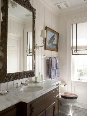 where to put towel bar in small bathroom love the half wall with the two way fireplace