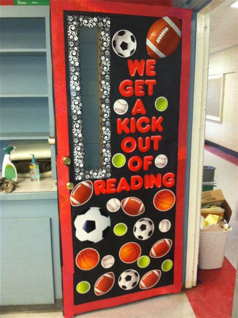 17 best ideas about sports theme classroom on