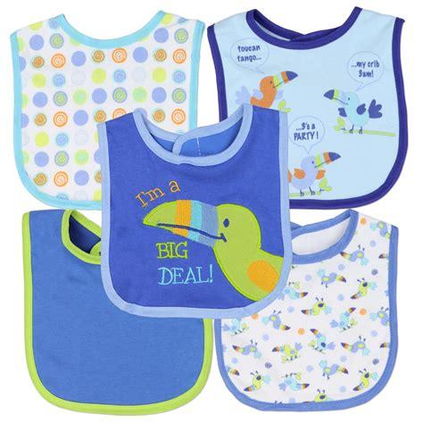 bibs for babies wholesale children s clothing wholesale beginnings boys 5 pack baby bibs