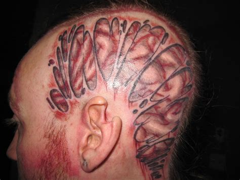 tattoo brain by atrash666 on deviantart