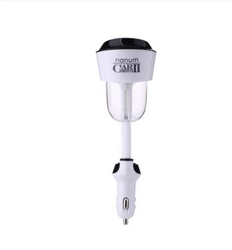 Nanum Usb Bamboo 7 Colors Led Car Humidifier Diffuser 130ml factory price wholesale new arrival nanum car humidifier