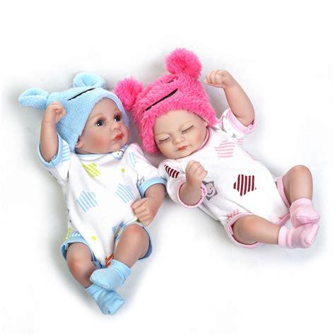 Www Handmade Au - mini 10 quot realistic reborn baby boy dolls silicone