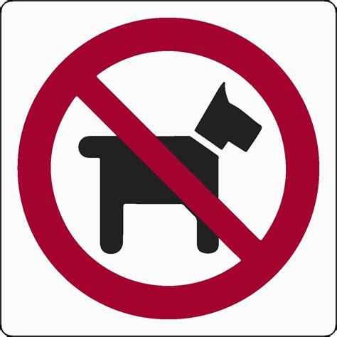 vietato l ingresso cartello vietato l ingresso ai cani