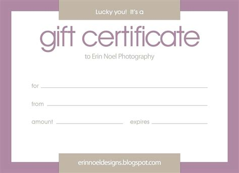 Generic Gift Card Template by Generic Gift Card Template Gift Ftempo