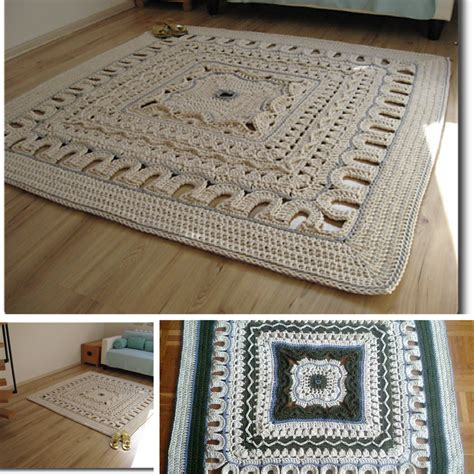 area rugs free crochet patterns page 2 of 2 knit