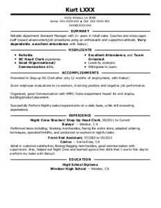 Facilitator Resume Sle by Workers Resume Sales Worker Lewesmr