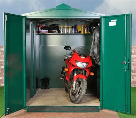 Motorbike Lock Up Shed by 25 Best Ideas About Motorcycle Decorations On