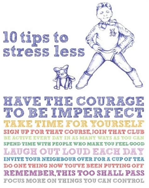 10 Tricks For Less by How Do You Deal With Stress 171 Pink Of Perfection