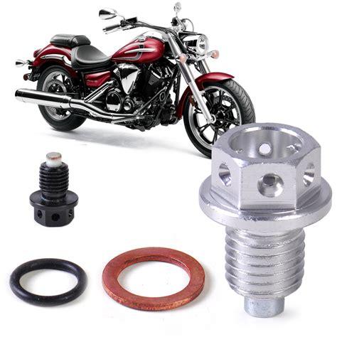 Nut As Motor Yamaha Honda 3 m12 magnetic engine pan drain filter adsorb bolt