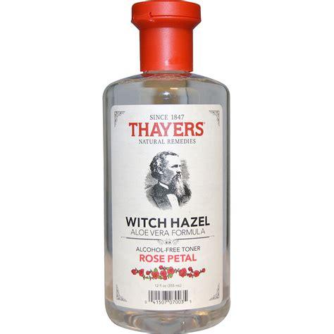 thayers alcohol free rose petal witch hazel with aloe vera 12 fluid ounce thayers witch hazel aloe vera formula free toner petal 12 fl oz 355 ml