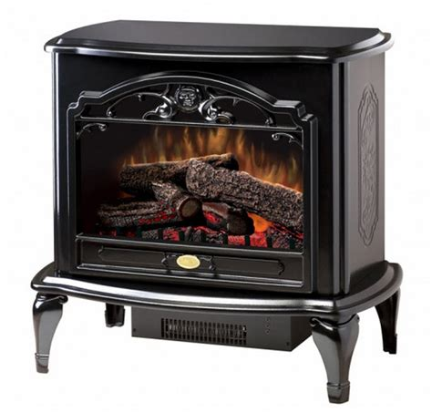 Dimplex Electric Fireplace Heater by 29 6 Quot Dimplex Celeste Black Stove Electric Fireplace
