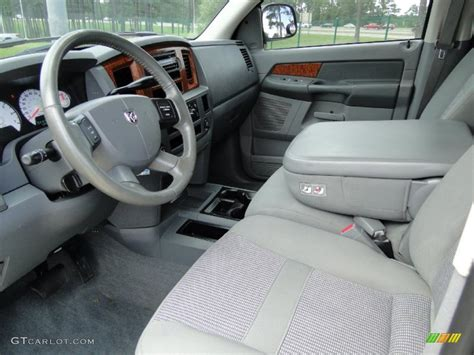 2006 Dodge Ram 1500 Interior medium slate gray interior 2006 dodge ram 1500 slt mega