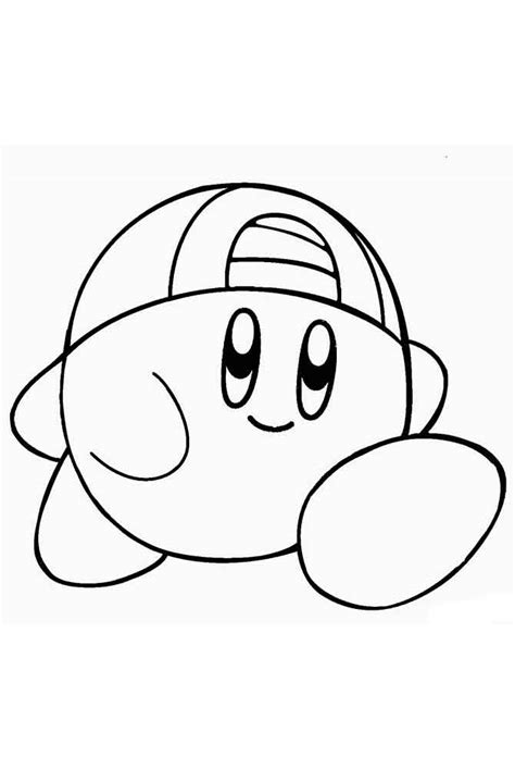 Coloring Page Kirby by Kirby Coloring Pages Free Printable Kirby Coloring Pages