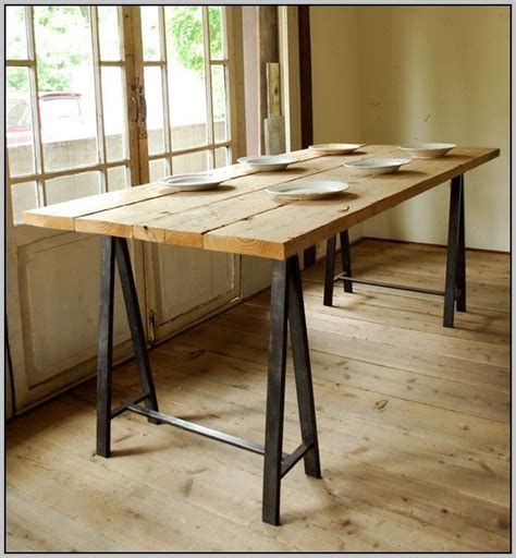 sawhorse desk with drawers sawhorse desk preparation and installation steps
