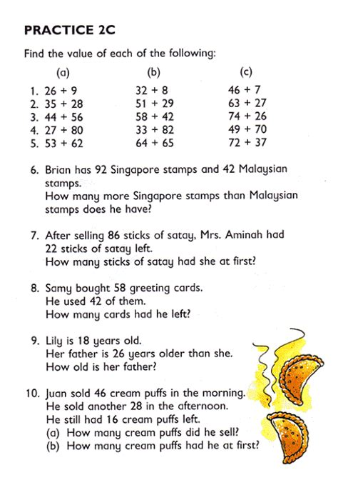 primary school maths worksheets learning printable