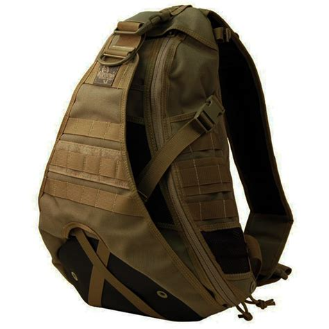 tactical sling backpacks maxpedition tactical monsoon gearslinger edc molle
