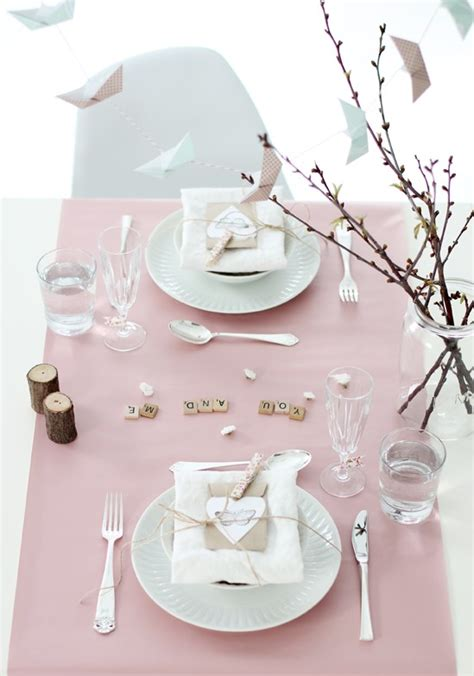 romantic table settings romantic and intimate valentine s day table setting ideas