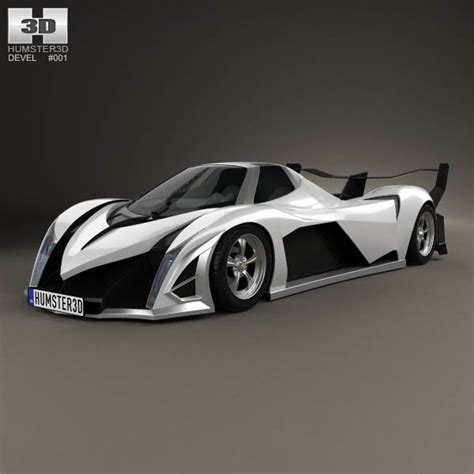 devel sixteen logo devel sixteen 2014 3d model humster3d