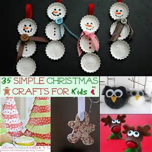free easy christmas crafts for children to make