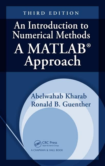 numerical methods in mechanics of materials 3rd ed with applications from nano to macro scales books an introduction to numerical methods a matlab approach